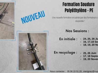 Formation soudure Polyéthylène – PE